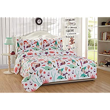 51pxxIWeVpL._SS450_ Mermaid Bedding Sets and Mermaid Comforter Sets