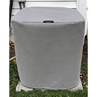 Heavy Duty Winter Full Air Condiitioner Cover - Waterproof top - Premier - 28x28x28ht - GRAY