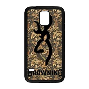 Browning for Samsung Galaxy S5 Cell Phone Case & Custom Phone Case Cover R15A649632