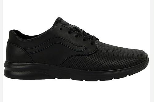 d14c56b1f Vans - Zapatillas de Piel para Hombre Negro Negro
