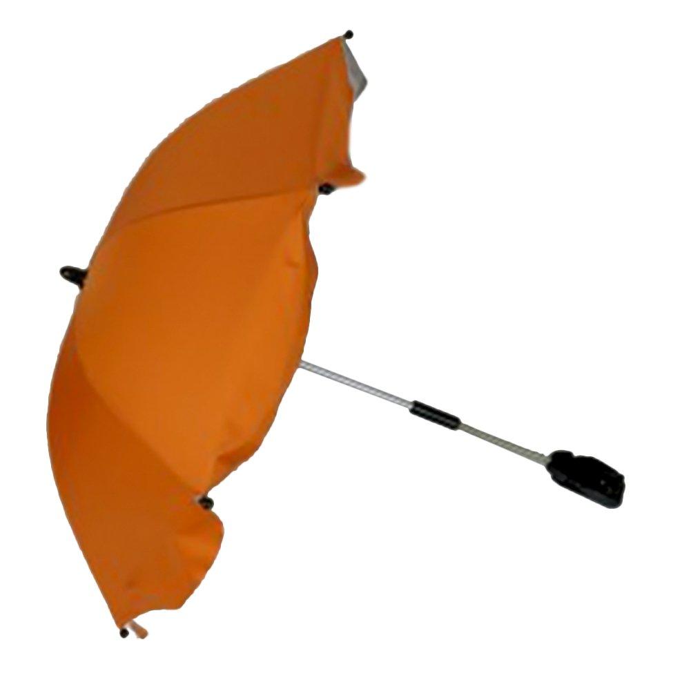 Binglinghua Baby Pram Pushchair Buggy Shade Stroller Parasol Sunshade Stroller Umbrella with Universal Clamp (Orange)