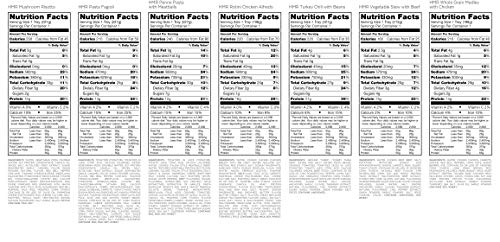 HMR Ultimate Entree Variety Pack, 14 Different Meals, 7-8oz. Servings, 14 Count by HMR (Image #8)