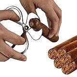 TESHIUCK Cigar Scissors Cutter, Stainless Steel