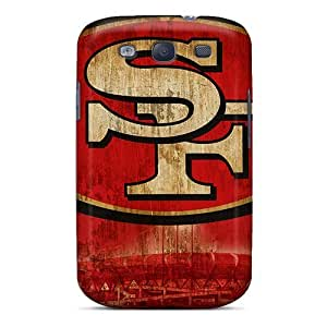 For Winvin Galaxy Protective Case, High Quality For Galaxy S3 San Francisco 49ers Skin Case Cover