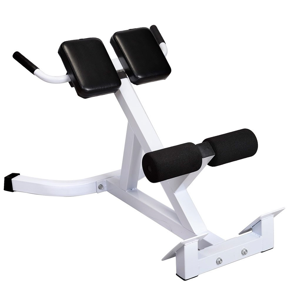 cosway Roman Chair Back Hyperextension Bench Workout Exercise Bench for Training