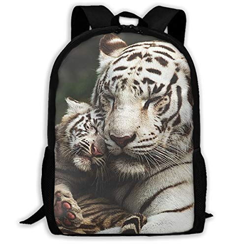 Simple Laptop Backpack 3D Tiger Print School Book Bag Durable Daypack Outdoor Storage Bag Travel Daypack For Travel Outdoor -