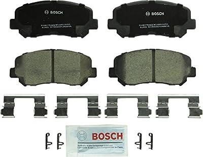 Bosch BC1640 QuietCast Premium Ceramic Disc Brake Pad Set For 2015-2017 Chrysler 200; 2013-2016 Dodge Dart; 2014-2017 Jeep Cherokee; Front