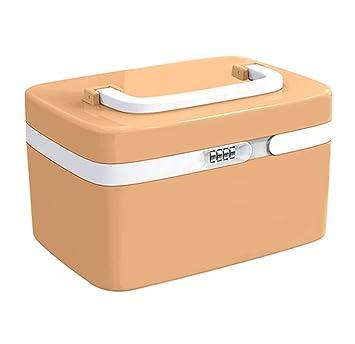 le dernier b8d36 1a2fd La Boîte de Rangement avec Serrure à Combinaison, Evertop Multi Fonctionnel  PortabLa Boîte de Rangement pour Cosmétiques Outils de Maquillage, Kitchen  ...