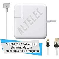 ALTELEC Cargador Compatible 60w Magsafe ® 2 A1435 A1425 A1502 A1466