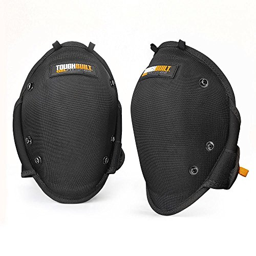 ToughBuilt GelFit Professional Knee Pads - Comfortable Gel Cushion & Heavy Duty Foam Padding, Strong Adjustable Straps, Premium Quality Built to Last (TB-KP-G2) (SnapShell compatible) NEW by ToughBuilt (Image #1)