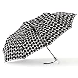 ShedRain Umbrellas Auto Open Compact with Clear Acrylic Handle, Rihanna, One Size