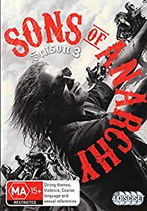 SONS OF ANARCHY: SEAS 3 (4 DISC)