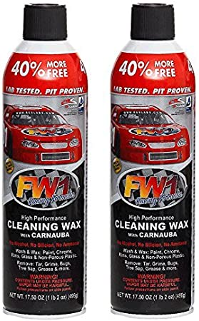 3 x FW1 High Performance Exterior Wash and Wax with Carnauba 1 x TS2 Tire Shine Touchless Formula