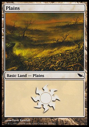 Magic: the Gathering - Plains (284) - Shadowmoor - Foil