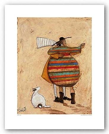 Amazon.com: (16x20) Sam Toft Dancing Cheek to Cheeky Art Print ...