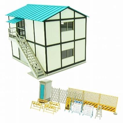 1/80 Visual Scene Series Prefabricated building-1 MK05-50 (Paper-crafting )