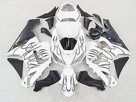 Amazon.com: Moto Onfire Motorcycle Fairings Plastic Kits ...