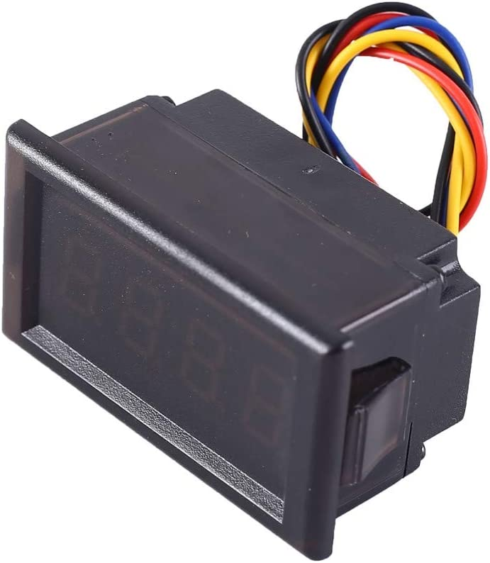 MEROURII Horloge /Électronique de Voiture 24 Heures Mini Voiture Horloge /Électronique LED Compteur dAffichage Num/érique 12V Contr/ôle /à Chaud Kit de Bricolage /à 4 Chiffres