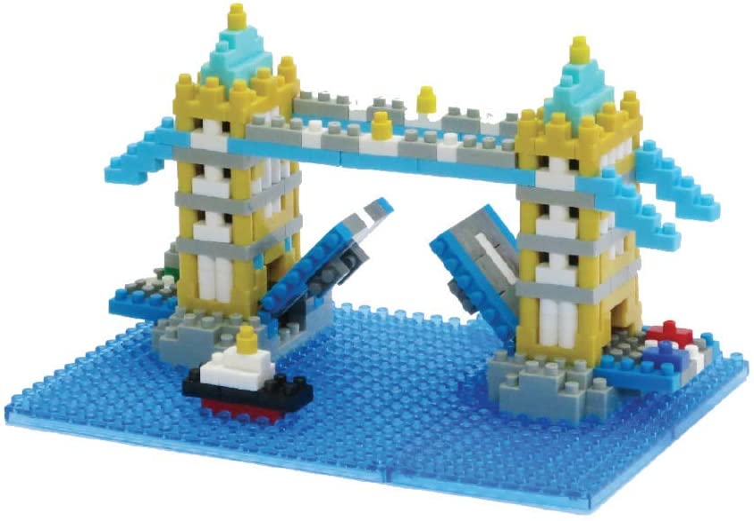 NANO BLOCKS TOWER BRIDGE MINI BRICKS PUZZLE NANOBLOCK GREAT GIFT