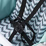 Evenflo Symmetry Flat Fold High Chair, Spearmint