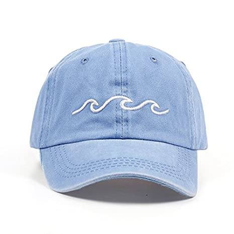 SUNNYBQM Gorra De Beisbol Dise/ño Pap/á Sombreros Mujeres Hombres Mar Ola Gorra De B/éisbol Unisex Moda Pap/á Sombreros Sombreros Deportivos