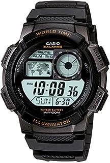 4551c6c2d713 Casio W89HB-5AV Illuminator Reloj deportivo con brazalete de resina ...
