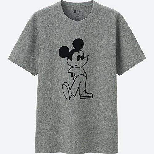 UNIQLO ユニクロTシャツ 長場雄 UT ミッキーコレクション 人気完売  グレー 貴重 Sサイズの商品画像