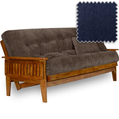 Eastridge Futon Set - Queen Size, Frame, Premium 8