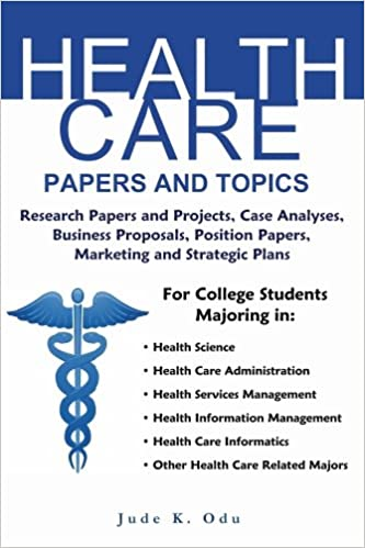 health care topics for research paper