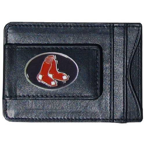 Boston Red Sox Official MLB Leather Cash & Cardholder by Sis