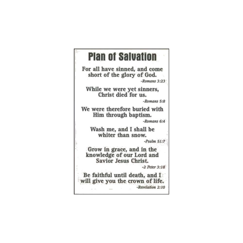 photograph relating to Romans Road to Salvation Printable called : System Hues of Salvation Pocket Playing cards (Pkg of