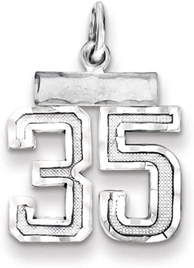 Solid 925 Sterling Silver Official Sigma Sigma Sigma Small Pendant Charm 13mm x 14mm