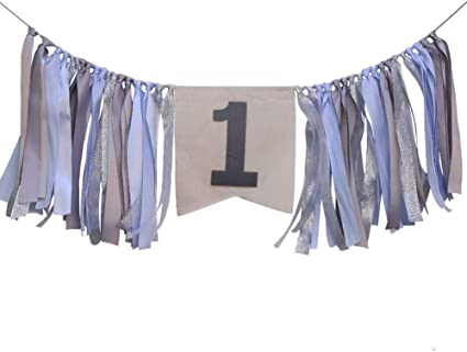 Personalized Highchair Banner  Floral Highchair Banner  Shabby Chic Highchair Banner  Highchair Banner  Burlap Highchair Banner