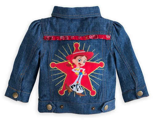 Disney Store Toy Story Jessie Cowgirl Denim Jacket Size 2T Toddler Costume (Cowgirl Costume For Toddler)