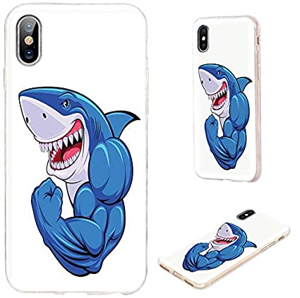 best website 37e7f 3fccc iPhone XS Case,iPhone X Case,VoMotec Shockproof Slim Flexible Soft TPU 360  Full Protective Cover Cases with Art Design for Apple iPhone X XS 10,Funny  ...