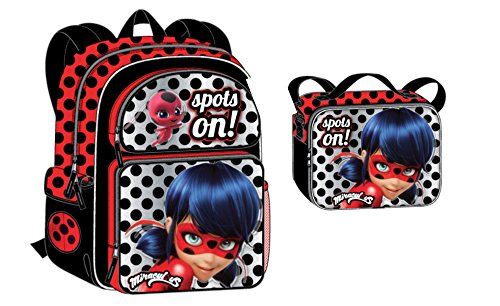 Nickelodeon Miraculous Lady Bug Backpack + Lunch - Bug Lunch