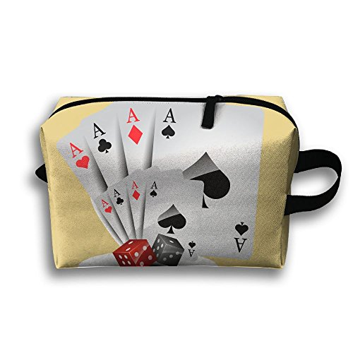 Travel Bags Playing Card Portable Storage Bag Clutch Wallets Cosmetic Bags Organizer Zipper Hangbag Carry -