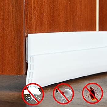 Under Door Sweep Weather Stripping Soundproof Door Draft Stopper Direct  Energy Saver For Door Bottom Seal