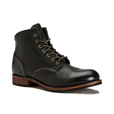 d11800d90b1 FRYE Men's Logan Cap Toe