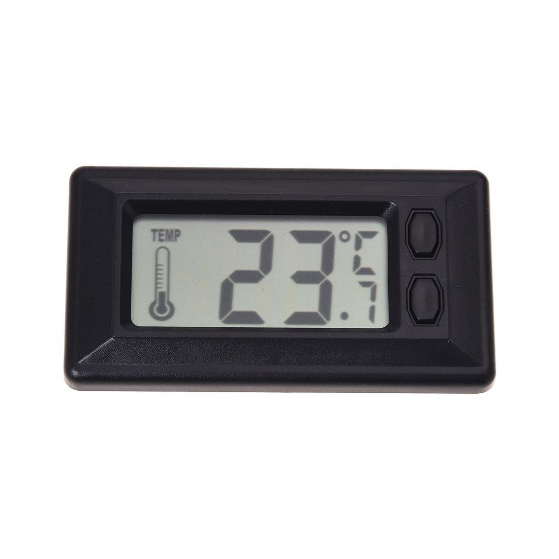 TOOGOO(R) Termometro de Temperatura interior de coche con Pantalla LCD Digital 043539