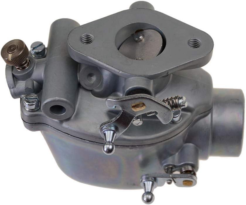 WOOSTAR 8N9510C Carburetor for Ford 2N 8N 9N Tractor Replace 8N9510C Heavy Duty B3NN9510A 9N9510A Marvel Schebler TSX33 TSX241A TSX241B TSX241C 0-13876 13876 FSC30-0032