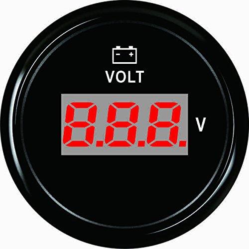 Digital Voltmeter Volt Meter 8-32V With Backlight 52mm(2