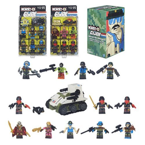 SDCC 2015 Exclusive Kre-O G.I. Joe Construction Commandos (Gi Joe Rise Of Cobra Night Raven)