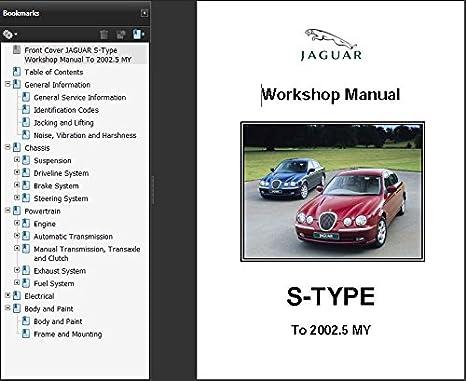 jaguar s type 1999 2002 5 workshop repair manual amazon co uk rh amazon co uk jaguar x type workshop manual pdf jaguar s type workshop manual pdf
