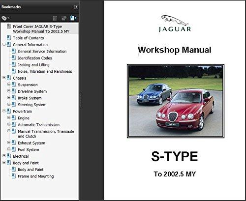 jaguar s type 1999 2002 5 workshop repair manual amazon co uk rh amazon co uk Jaguar XF Jaguar F-Type