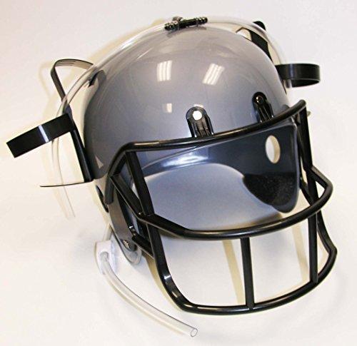 Football Drinking Helmet Dispenser Silver