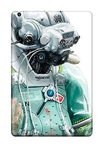 BkdokwY3877Mztdh Tpu Phone Case With Fashionable Look For Ipad Mini/mini 2 - Futuristic Surgeon