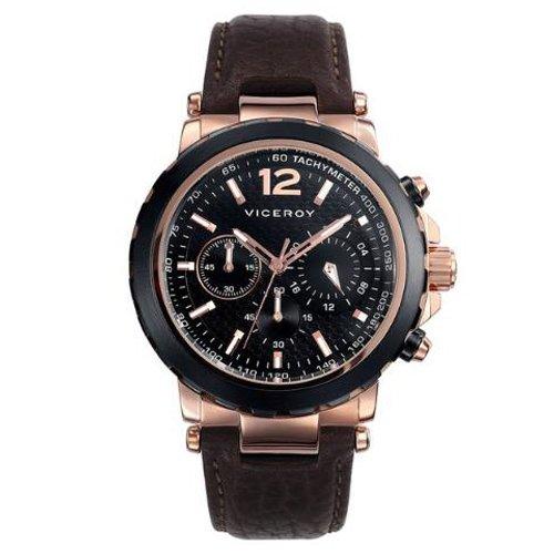 07594aad7265 Reloj Viceroy 47741-95 Hombre Negro Cronógrafo Cuarzo  Viceroy ...