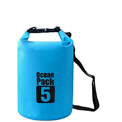 cd0ef2a5e8d4 Amazon.com : 5L Waterproof Bags Storage Dry Sack Bag for Canoe Kayak ...