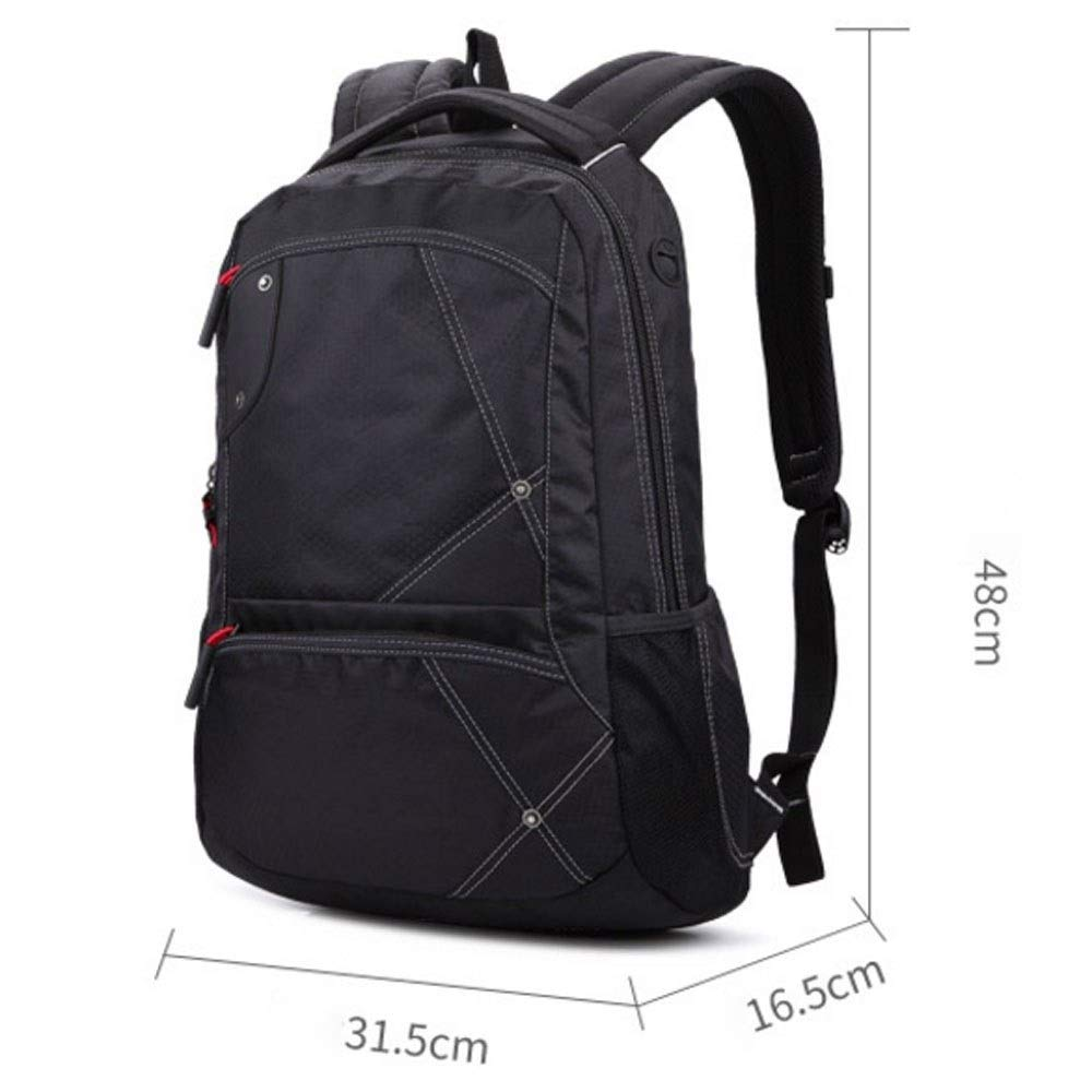 MYXMY Outdoor Sports and Leisure Bag Backpack Backpack Travel Female Computer Korean Version of The Shoulder Bag Trend Wild Men's Backpack by MYXMY (Image #2)